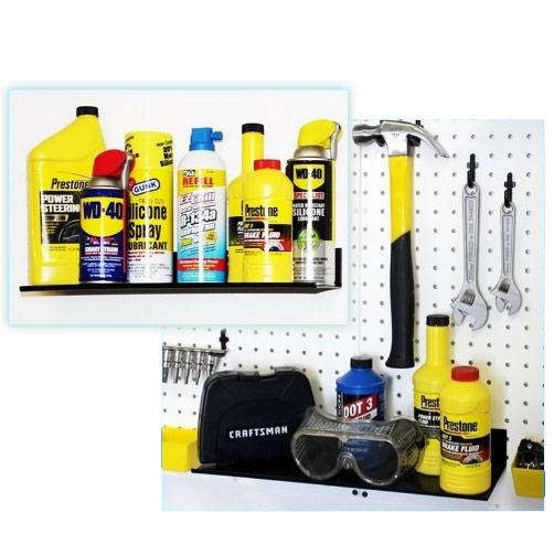 pegboard shelving ideas